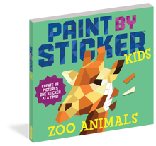 Load image into Gallery viewer, Paint by Sticker Kids! - Zoo Animals