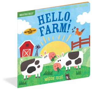 Indestructibles: Hello, Farm! Book