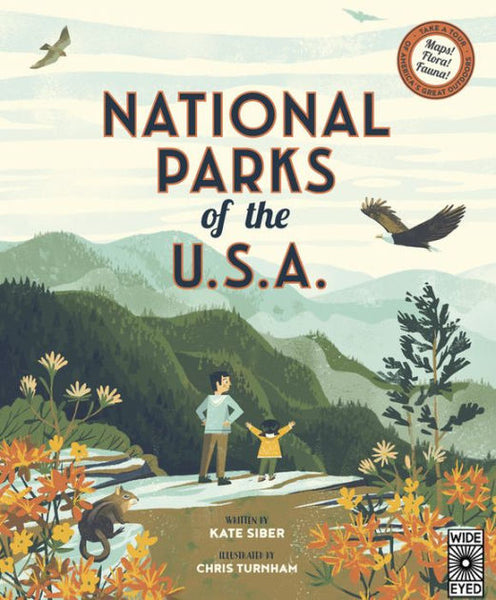 National Parks of the U.S.A. Book