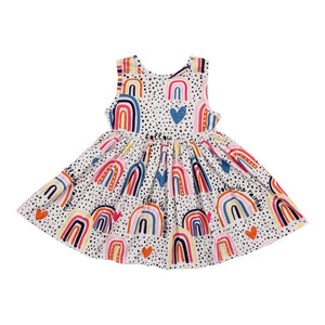 Follow the Rainbow Tank Twirl Dress