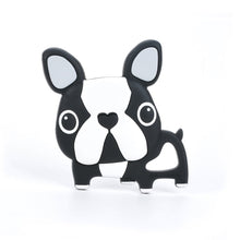 Load image into Gallery viewer, Boston Terrier Silicone Teether