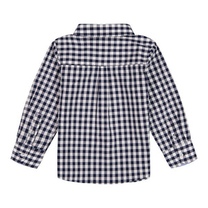 Gingham Button Up