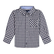 Load image into Gallery viewer, Gingham Button Up