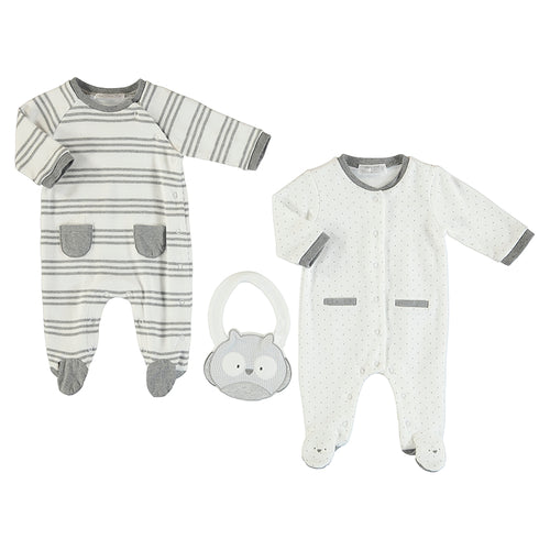 Three Piece Sleepwear Set