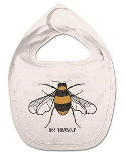 Bee Yourself Organic Bib
