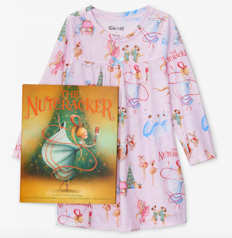 Nutcracker Pajama & Book Set