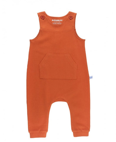 Orange Spice Ribbed Longalls