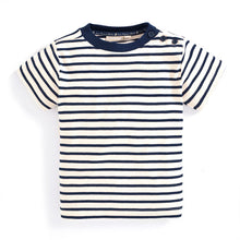 Load image into Gallery viewer, Striped Short Sleeve Tee