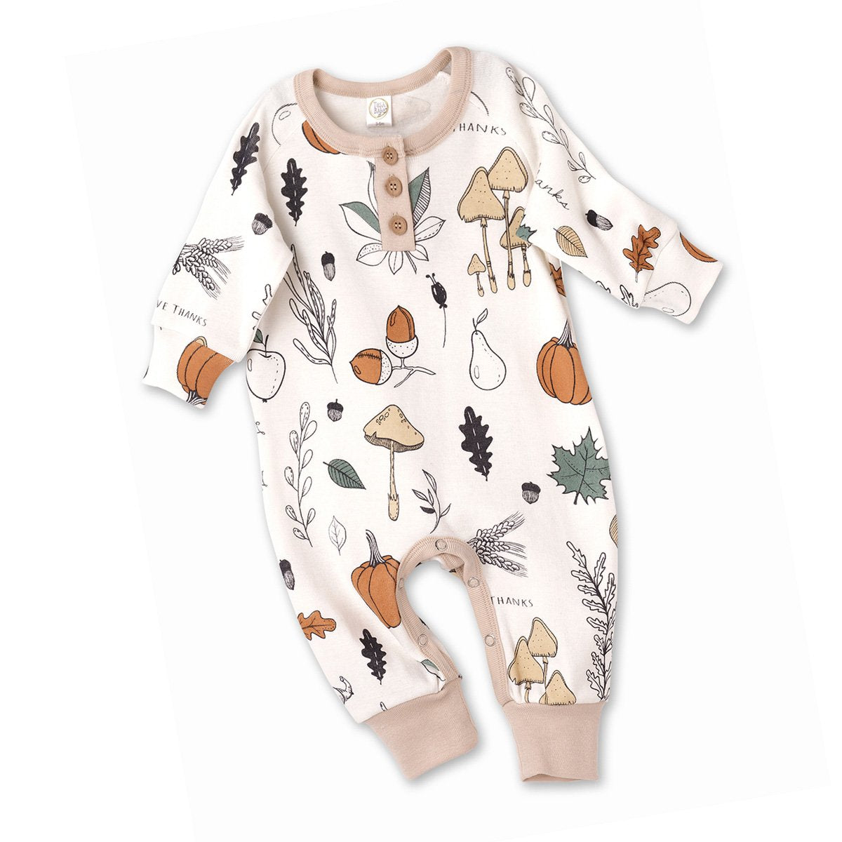Give Thanks Henley Romper