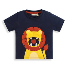 Load image into Gallery viewer, Lion Applique Interactive Tee