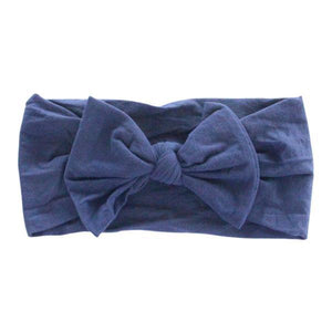 Navy Nylon Headband