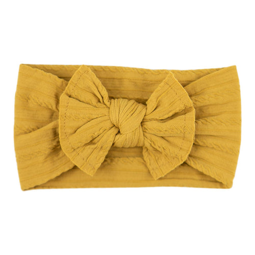 Dandelion Cable Knit Nylon Headband