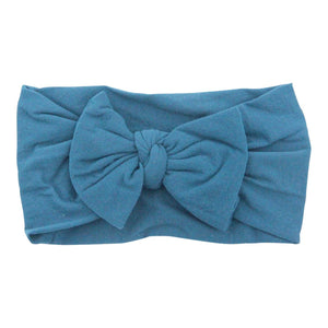 Dark Teal Bow Headband