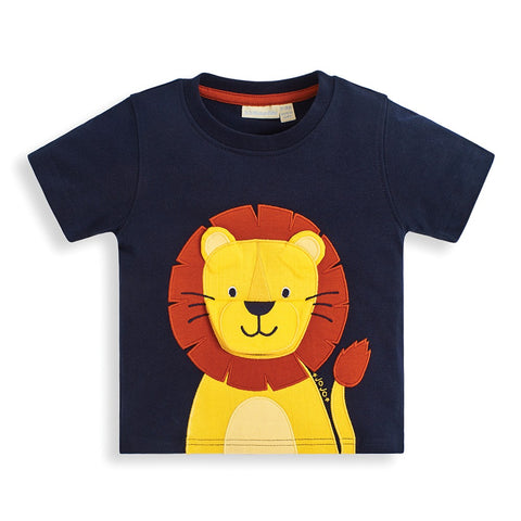 Lion Applique Interactive Tee