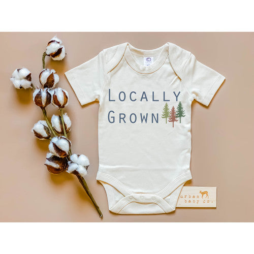 Locally Grown Organic Onesie