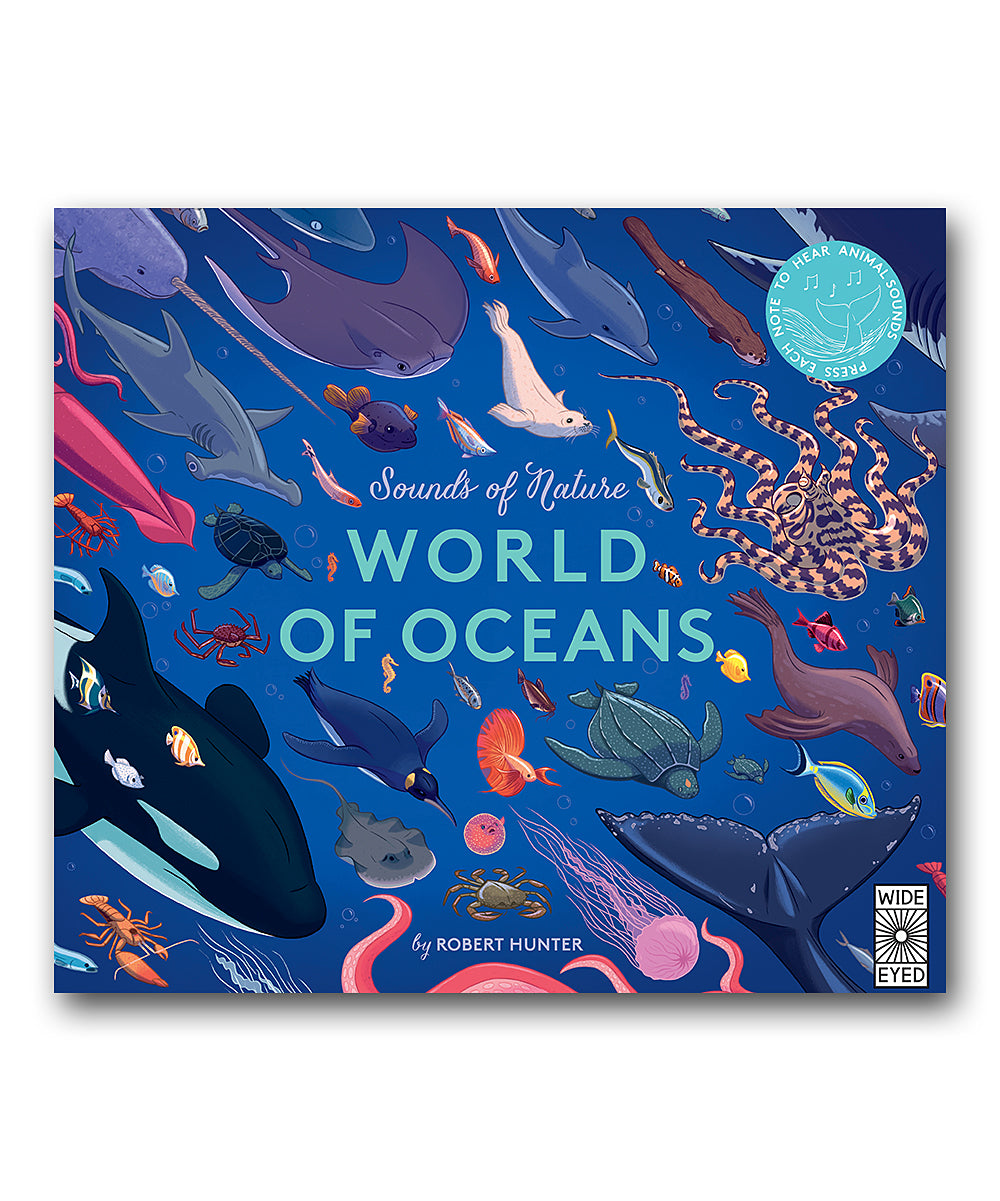 Sounds of Nature - Oceans Book