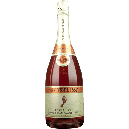 Barefoot Bubbly Rose Cuvee - 750ML