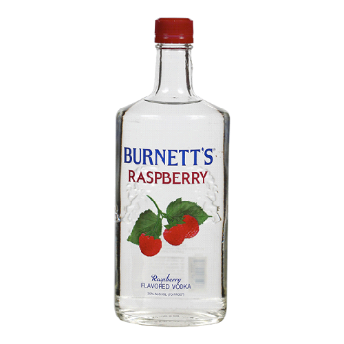 Burnett's Vodka Raspberry - 750ML