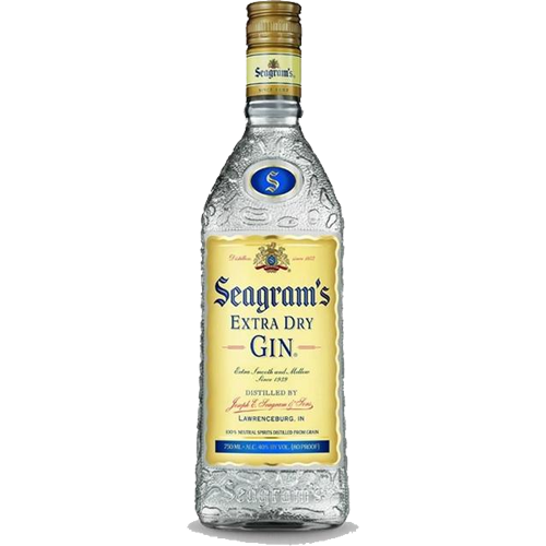 Seagram's Gin Extra Dry - 750ML