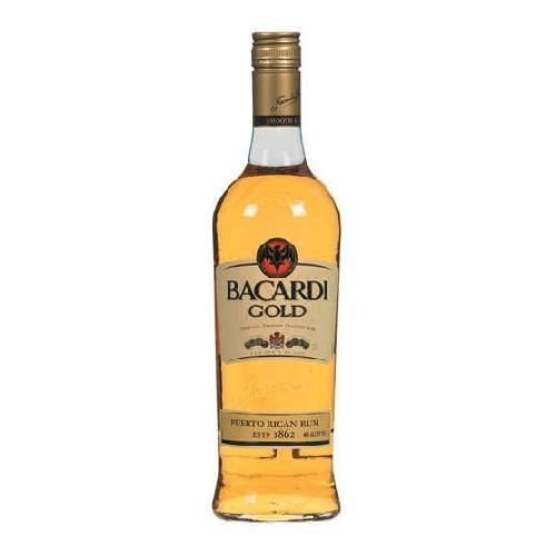 Bacardi Rum Gold - 750ML