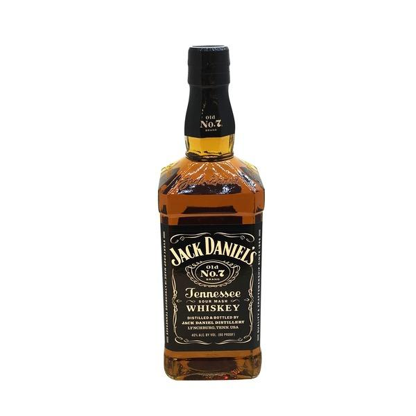Jack Daniel's Whiskey Sour Mash Old No. 7 Black Label - 750ML