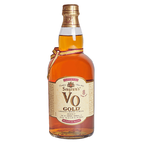 Seagram's Vo Canadian Whiskey 8 Year Gold - 750ML