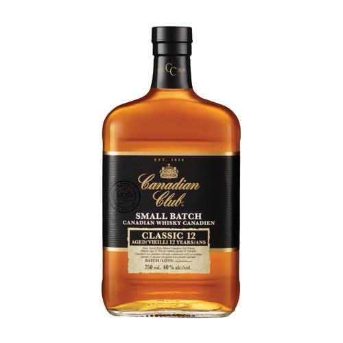 Canadian Club Canadian Whisky Small Batch 12 Year Classic - 750ML