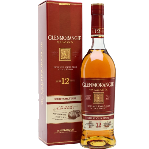 Glenmorangie Scotch Single Malt 12 Year Lasanta - 750ML