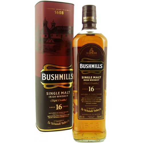 Bushmills Irish Whiskey 16 Year - 750ML