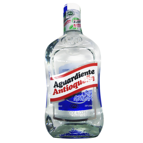 Antioqueno Sin Azucar Aguardiente - 750ML