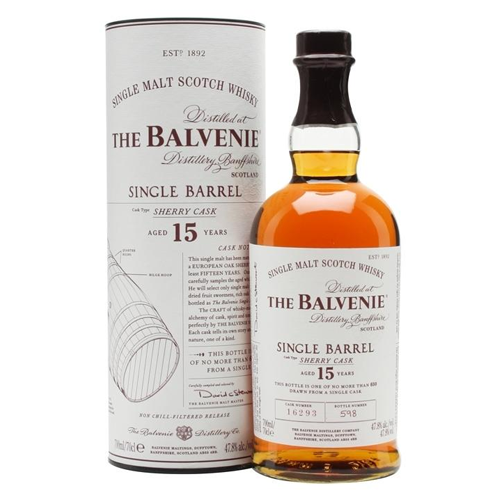 The Balvenie Scotch Single Malt 15 Year Sherry Cask - 750ML