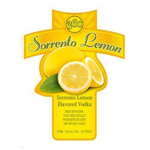 360 Sorrento Lemon - 750ML