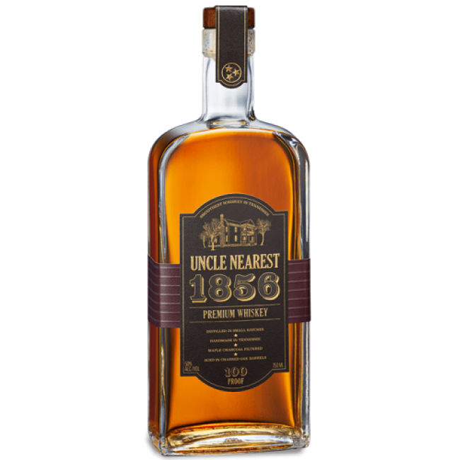 Uncle Nearest 1856 Premium Whiskey 100Pf 750ML