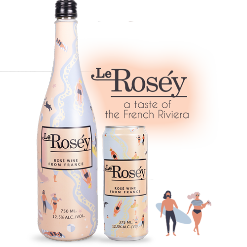 le Rosey Rose Wine - 375ML