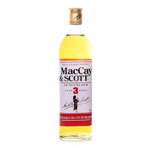 Maccay & Scott Whisky 3 Yr - 750ML