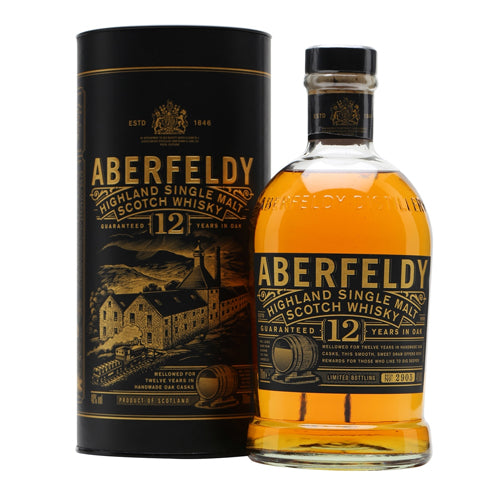 Aberfeldy Scotch Single Malt 12 Year - 750ML