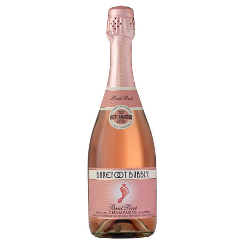 Barefoot Bubbly Brut Rose Spk 750ml