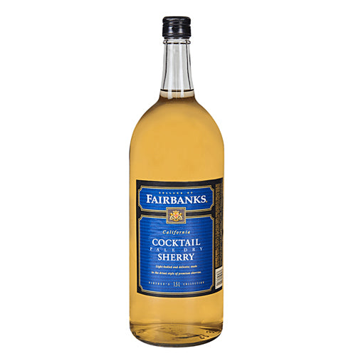 Fairbanks	Sherry Pale Dry 1.5l