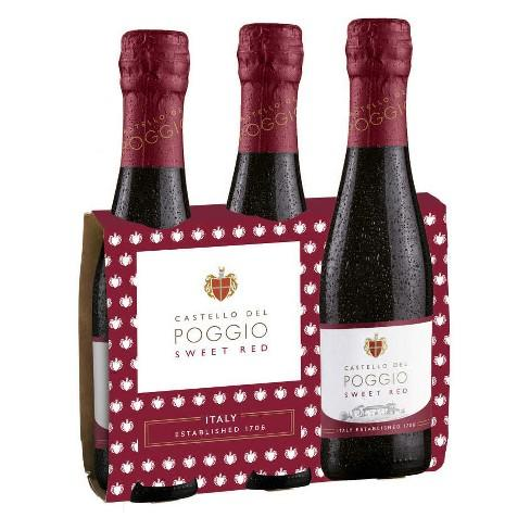 Castello del Poggio Sweet Red 187ML