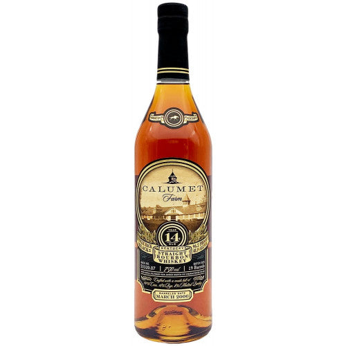 Calumet Farm Bourbon 14 Year Single Rack Black - 750ML