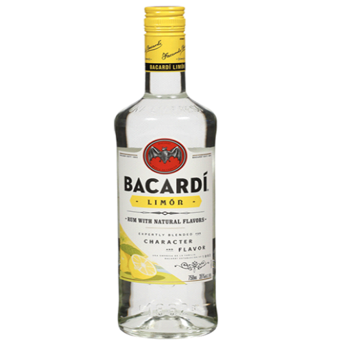 Bacardi Rum Limon - 750ML
