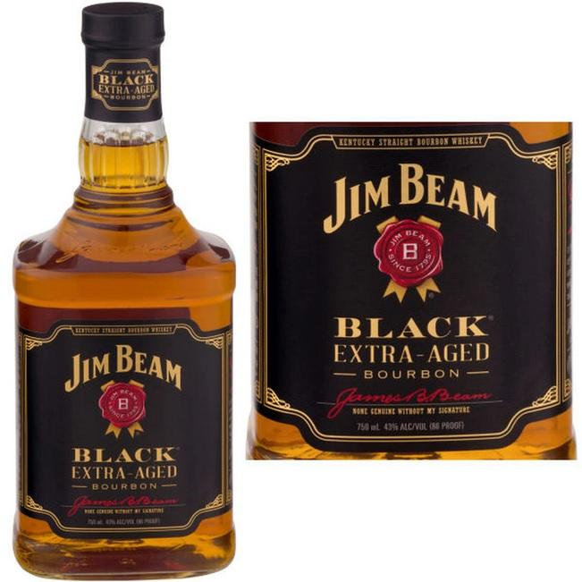 Jim Beam Bourbon Black Extra-Aged - 750ML