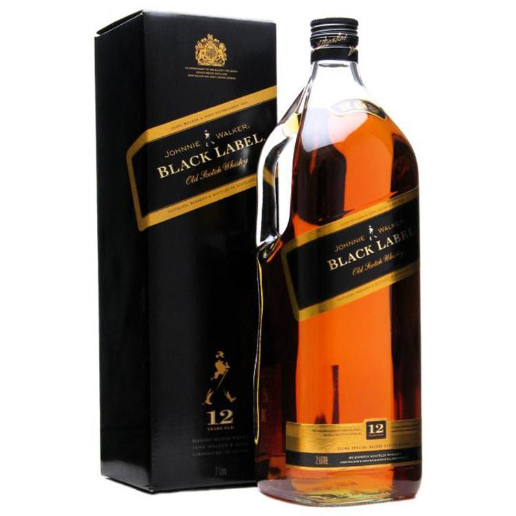 Johnnie Walker Scotch Black Label 12 Year - 1.75L