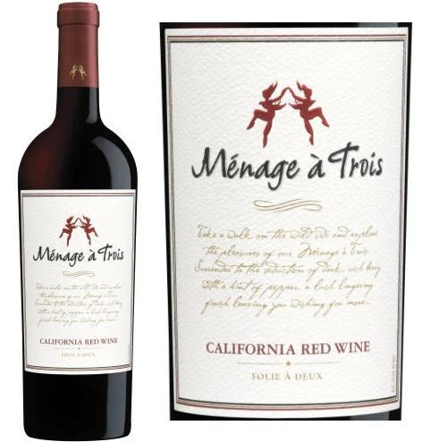 Menage A Trois Red - 750ML