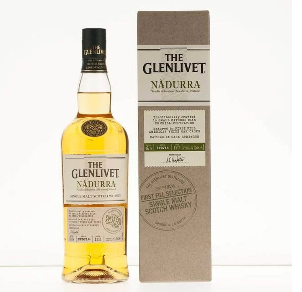 Glenlivet Scotch Single Malt Nadurra First Fill Selection - 750ML