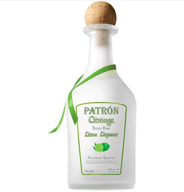 Patron Liqueur Lime Citronge - 750ML