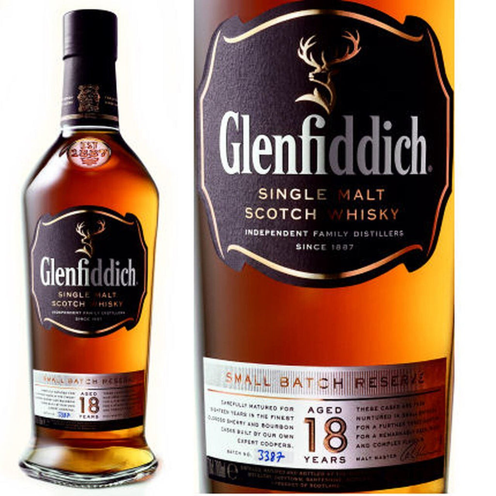 Glenfiddich Scotch Single Malt 18 Year Small Batch Reserve - 750ML
