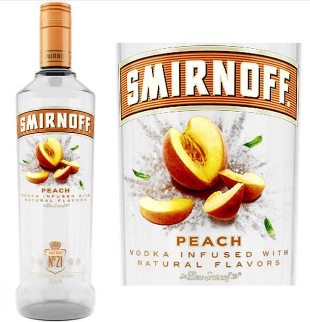 Smirnoff Vodka Peach 750ML