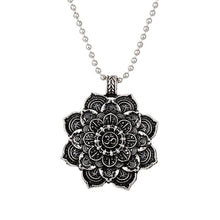 Load image into Gallery viewer, Lotus Chakra Necklace Pendant - Akasa Yoga