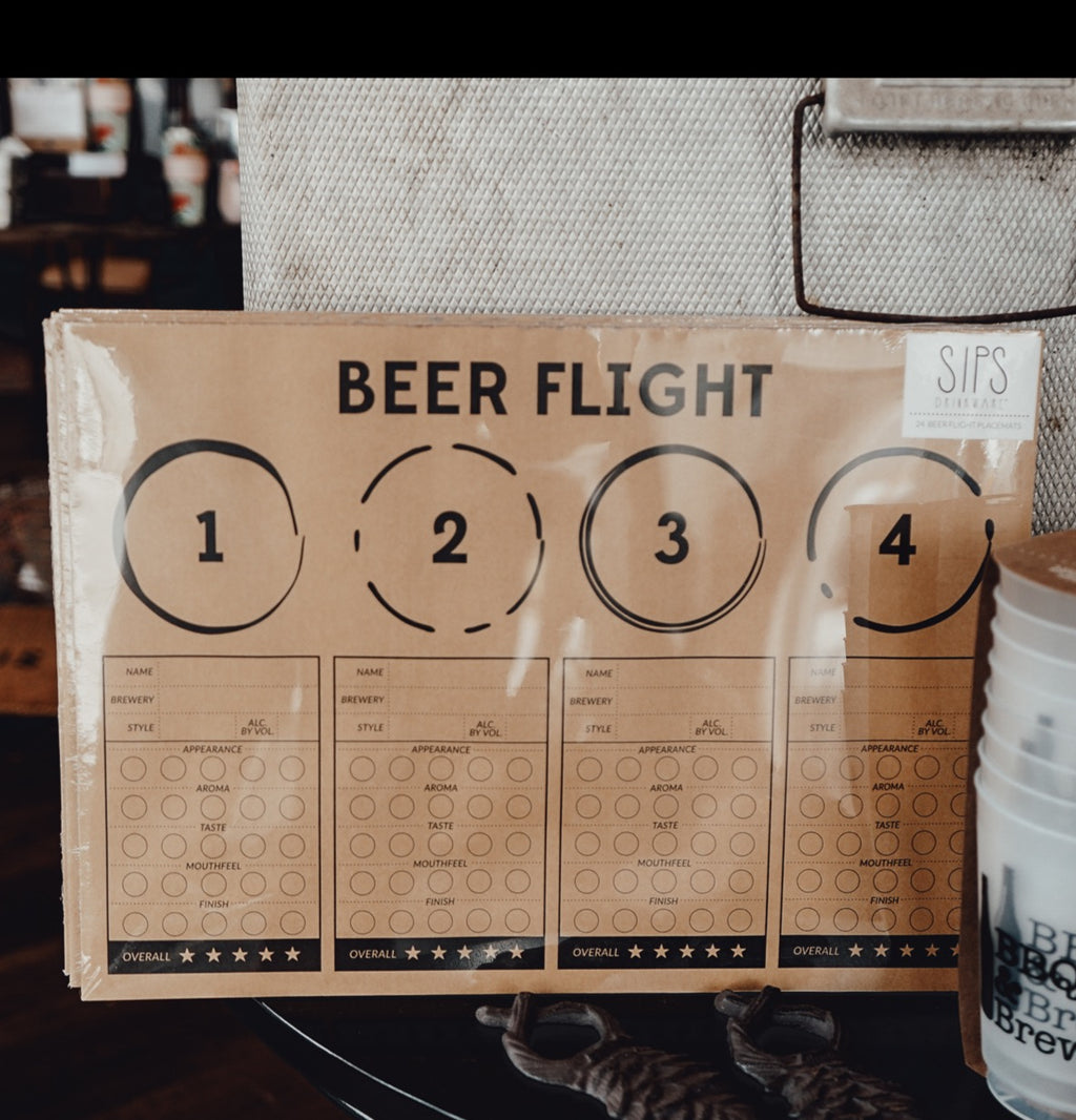 Beer Flight Placemats - Provisions, LLC